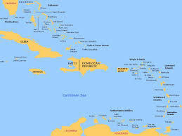 Map Of The Caribbean Islands by Bahamas And Caribbean Passage And Route Planner