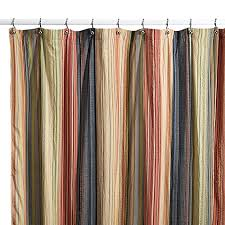 Cotton Shower Curtains Retro Chic Fabric Shower Curtain 100 Cotton Bed Bath Beyond