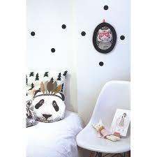 chambre bébé panda coussin déco chambre enfant de minimel tribuzig
