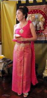 thai wedding dress thai class wedding dress set pink sz s ebay