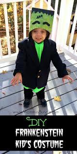 Handmade Toddler Boy Halloween Costumes 25 Kids Frankenstein Costume Ideas