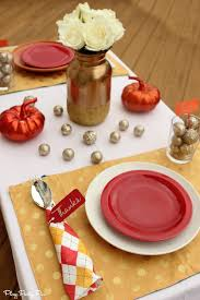 easy thanksgiving place settings sugar bee crafts