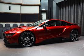 cars bmw red this custom lava red bmw i8 is dripping