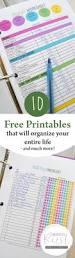 25 genius organization hacks free printables household and