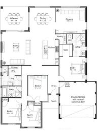 minimalist floor plans open concept house plans modern bungalow simple floor 7b099cc2571