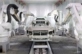 painting robot automatic industrial robotic arm spray painting robot for car