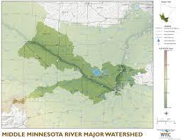 Minnesota Map Middle Minnesota River Major Watershed Minnesota River Basin