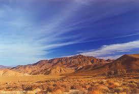 california blue desert goler california