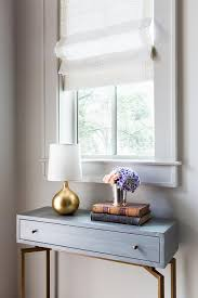 Gold Entry Table Gray Console Table Under Window Foyers Pinterest Console