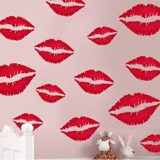 paint stencils for walls wall stencils lips kissing painting stencil ideal for