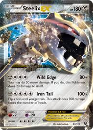 what does siege steelix ex xy steam siege tcg card database com