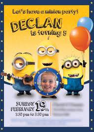 14 best minions birthday invitations images on pinterest minion