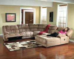 sectional microfiber sectional with recliner and chaise