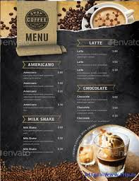 coffee shop menu template 50 best coffee shop flyer print templates 2017 frip in