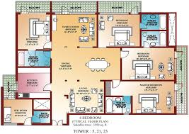 4 bedroom floor plans one best 4 bedroom house plans ideas home and space decor