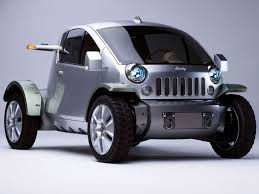 jeep front silhouette jeep treo concept an offroader with zero emissions