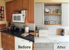 Open Shelves Kitchen How To Add Modern Open Shelves Kitchen Update For Way Less Cash