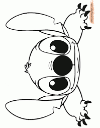 free printable stitch coloring pages free coloring pages
