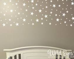 Star Decals For Ceiling by Diy Ceiling Stars Etsy