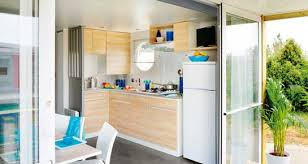 location cuisine air conditioned mobile home in the camargue rentals