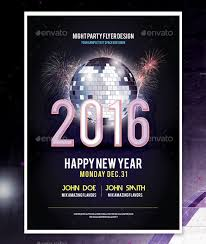 happy new years posters 14 new year poster templates free psd eps ai illustrator