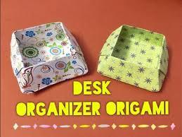 Origami Desk Organizer Paper Diy Origami Crane Step By Step How To Make