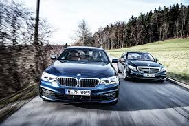 2017 bmw 530d xdrive vs 2017 mercedes benz e350d automobile magazine