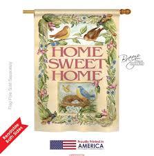 birds springtime house flag u0026 more garden flags at flagsforyou com
