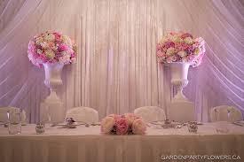 wedding flowers for head table main table esk v wedh wedding