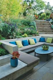 how to landscape a sloping garden efficient ideas