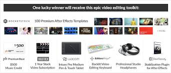 ultimate post production giveaway