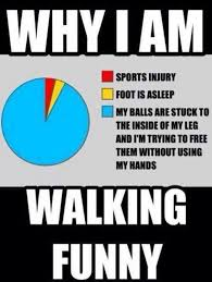 Walking Memes - why am i walking funny meme