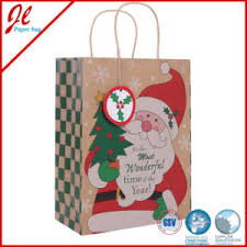 christmas paper bags china paper handle eco paper bags for christmas gifts china