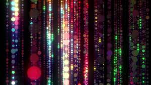 led new years disco led lights colorful particles seamless background for