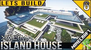 minecraft island house lets build e06 youtube