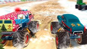 monster truck extreme racing games car racing games monster truck racing christmas gameplay