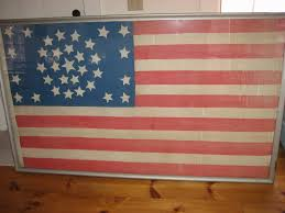 Star Flags Inside The Conservator U0027s Studio America Had A 15 Star Flag When