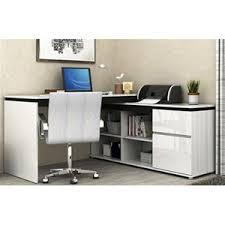 white high gloss desk buy milano high gloss drawer desk white graysonline australia