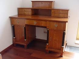 Schreibtisch Eckig Sbt 205 Sta Schreibtisch Pc Tisch Biedermeier Empire Kirschbaum