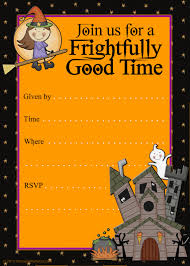 free halloween birthday party invitation templates disneyforever