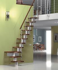 Quarter Turn Stairs Design Quarter Turn Staircase Wooden Steps Metal Frame Without