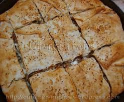 cuisine turque borek tepsi böreg bourek turc thon chignons fromage cuisine à 4