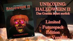 unboxing halloween 2 limited futurepack edition uncut youtube