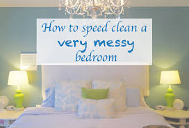 how to speed clean a very messy bedroom youtube