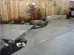 Backyard Stamped Concrete Patio Ideas Home Design Backyard Stamped Concrete Patio Ideas Breakfast Nook