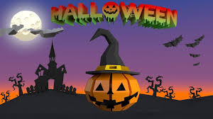 3d asset halloween lowpoly kit cgtrader