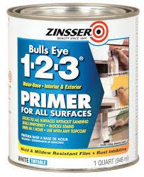 rust oleum 2004 zinsser bulls eye 1 2 3 white water based interior