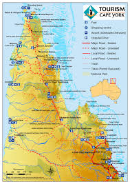 Map Of Queensland Australian Road Maps And Expeditions
