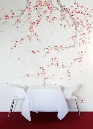 the beauty of cherry blossom wallpaper u2013 interior design blogs