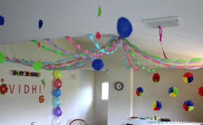 2nd birthday decorations at home simple birthday decoration at home in india ideas design party